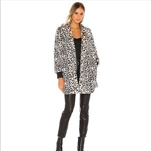 JACK Faux Fur Open Front Jacket
